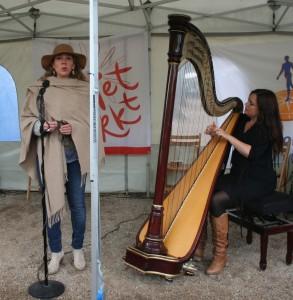 muziek zang en harp grietmarkt 11 mei 2013